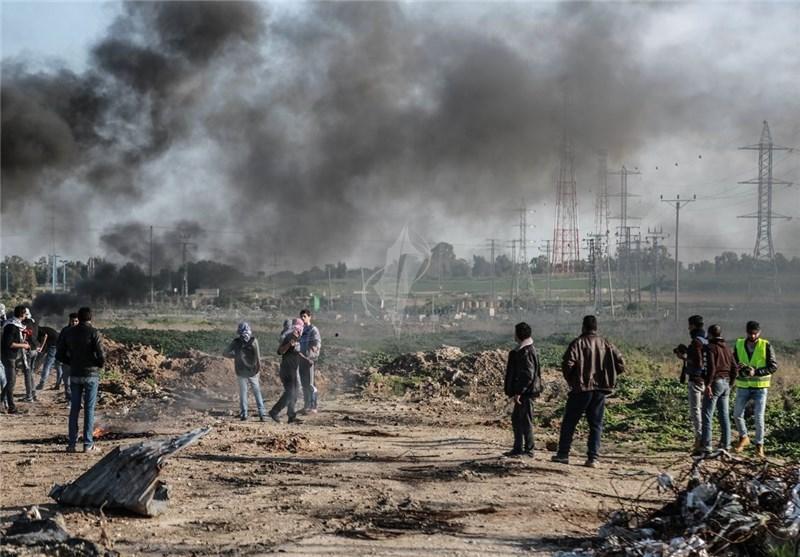 حمله توپخانهای رژیم صهیونیستی به غزه
