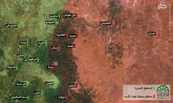 هجوم گسترده القاعده و ارتش آزاد به جنوب حلب+عکس