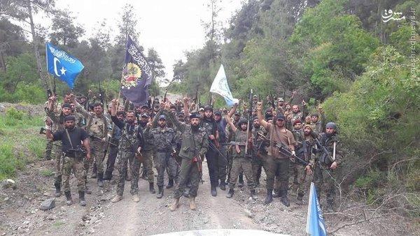 فعالیت القاعده ترکیه در سوریه+عکس