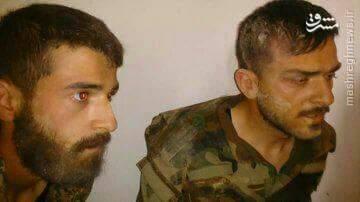 برخورد وحشیانه تروریستهای ارتش آزاد و القاعده با اسرا+فیلم و عکس