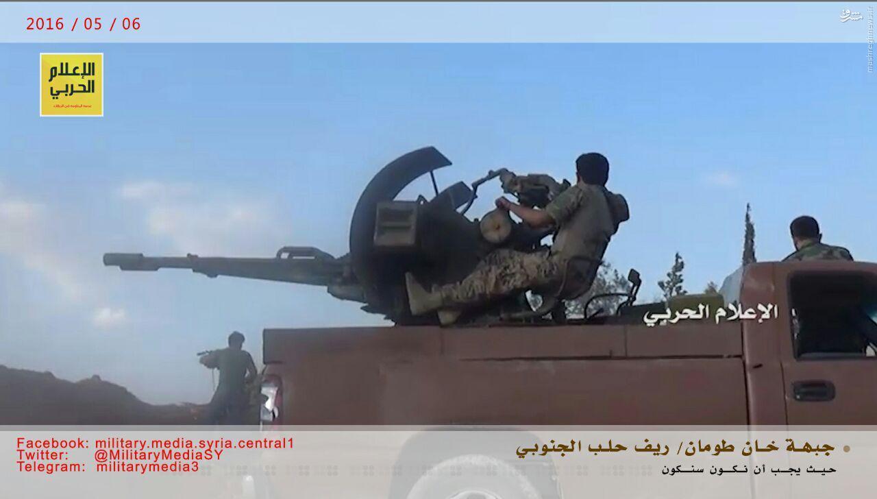 نبردهای خان طومان به روایت حزب الله+عکس