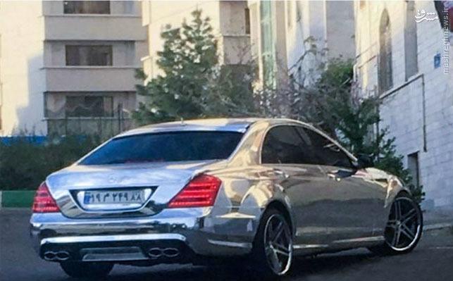 1613564 647 عکس/ خاصترین رنگ مرسدس در تهران