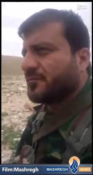 فیلم/ پیام یک «مدافع حرم» از درون محاصره «داعش»