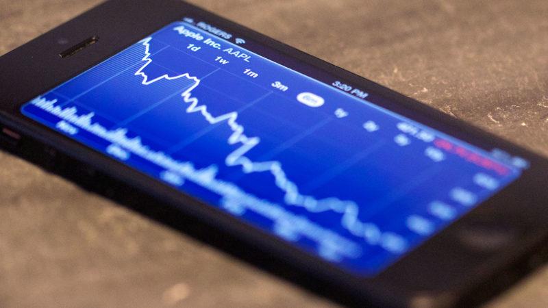ارزش سهام اپل بهکمترین میزان از سال ۲۰۱۴ رسید