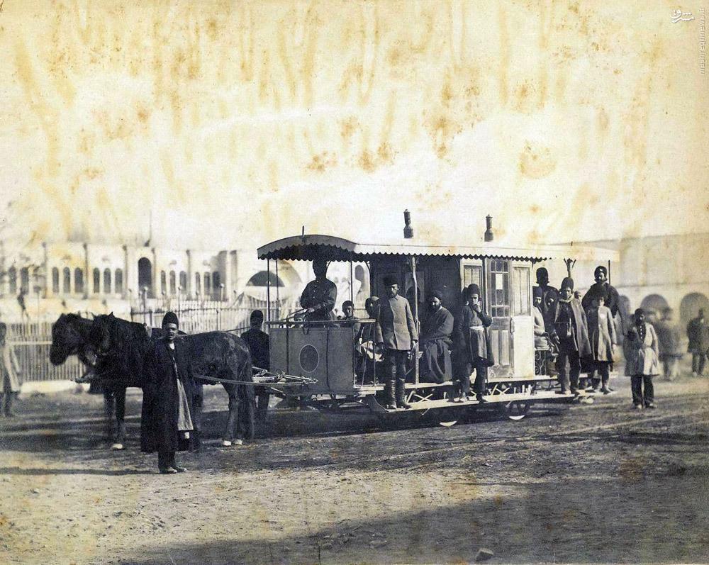 عکس/ وسیله نقلیه در دوران قاجار