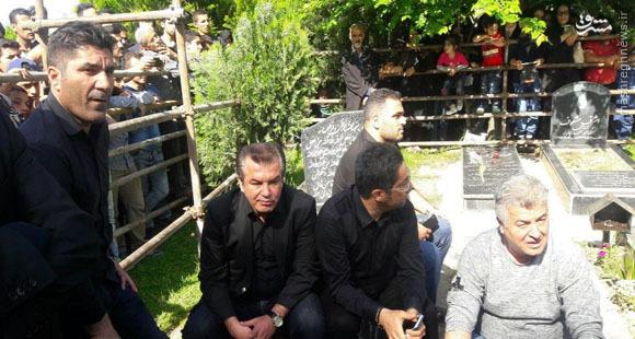عکس/ همه فوتبالیهای حاضر در مراسم اولادی