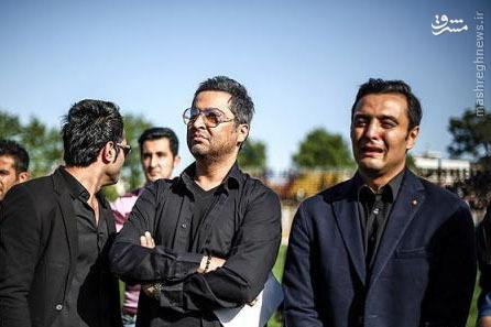 عکس/ ملیپوش سابق در غم مهرداد اولادی