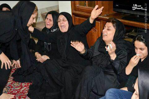 عکس/ همسر نوروزی در کنار مادر اولادی