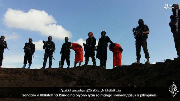 اعدام گروگان در فیلیپین توسط داعش+عکس