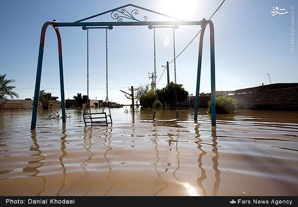 عکس/ پارک بازی متفاوت در ایران