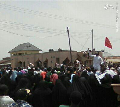 تظاهرات شیعیان نیجریه برای آزادی شیخ زکزاکی+عکس