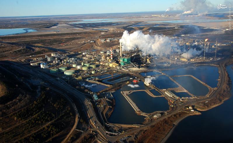 قلب کانادا در آتش میسوزد + عکس و فیلم
