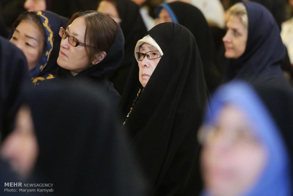 حجاب جالب بانوی چینی در تهران