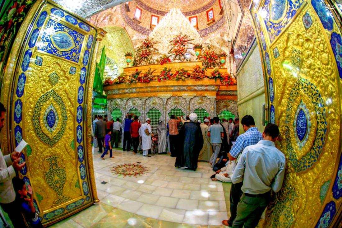 عکس امام زمان در کربلا