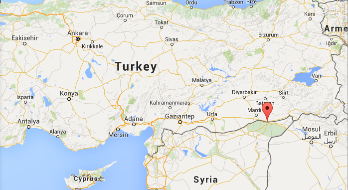 بمباران هوایی شهر نصیبین ترکیه+عکس