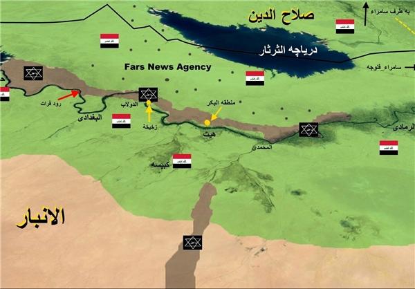 آخرین تحولات نبرد با داعش در فلوجه