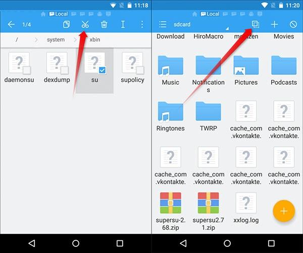 آموزش جامع آنروت کردن گوشیهای اندرویدی روت شده و بازگشت به حالت اول