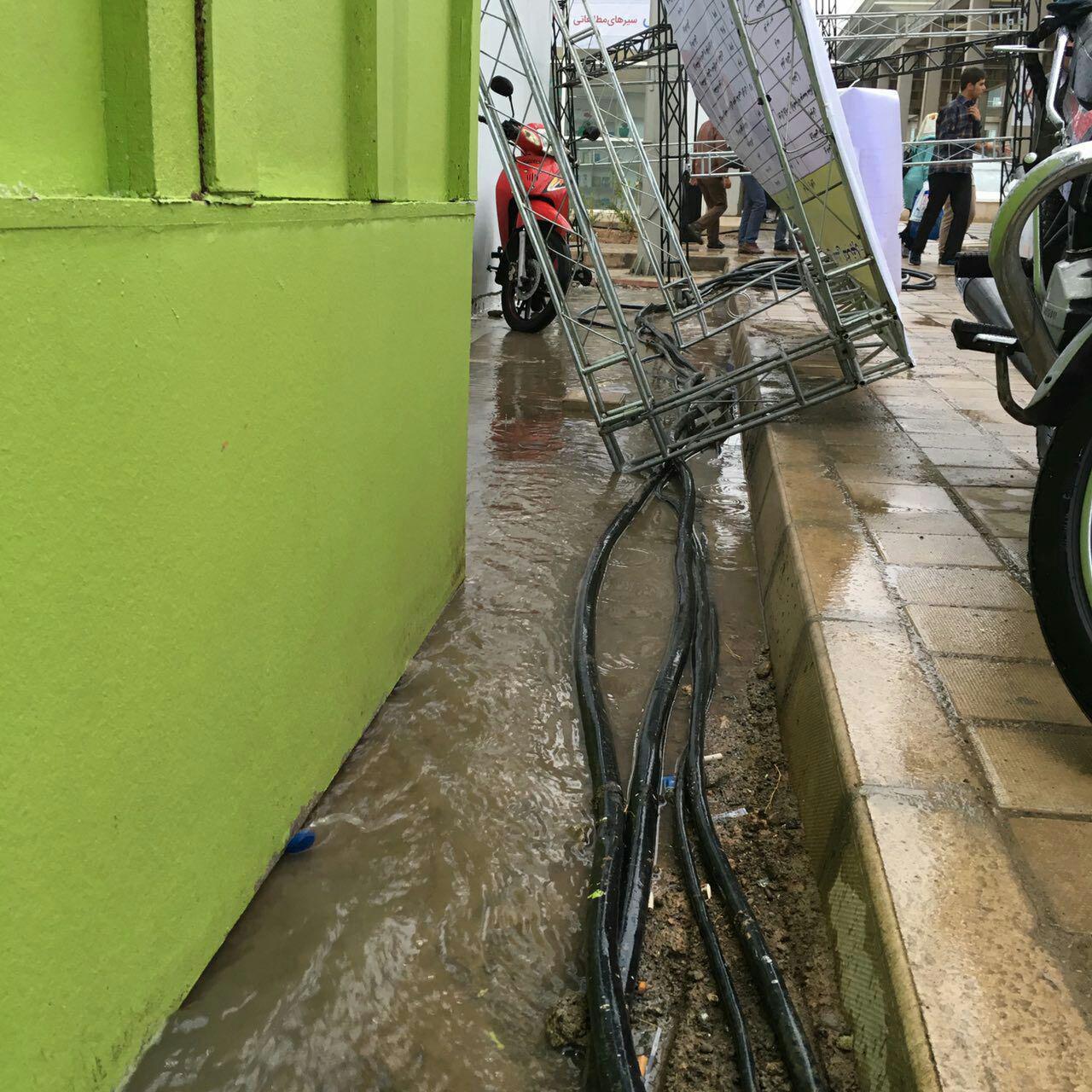 باران «شهر آفتاب» را به هم ریخت +عکس