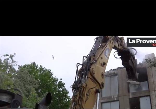 خانه زیدان خراب شد +عکس