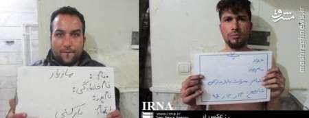دو سارق بازار تهران دستگیر شدند +عکس