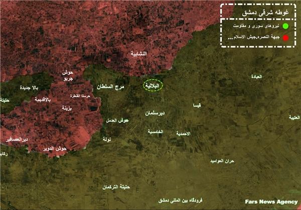 جدیدترین خبرها از غوطه شرقی دمشق +عکس