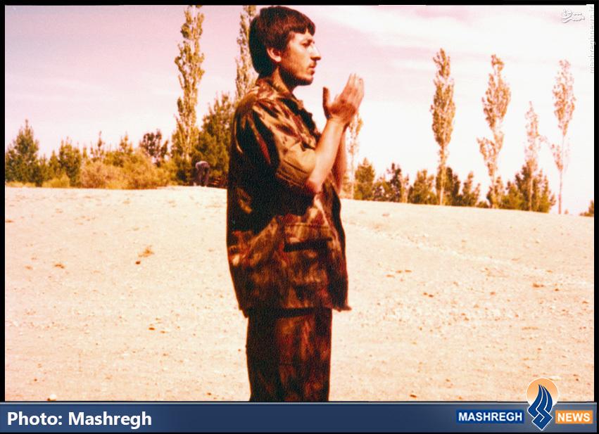 تصاویر/ «حاج محمد ناظری» در روزهایی که استاد «حاج قاسم» بود