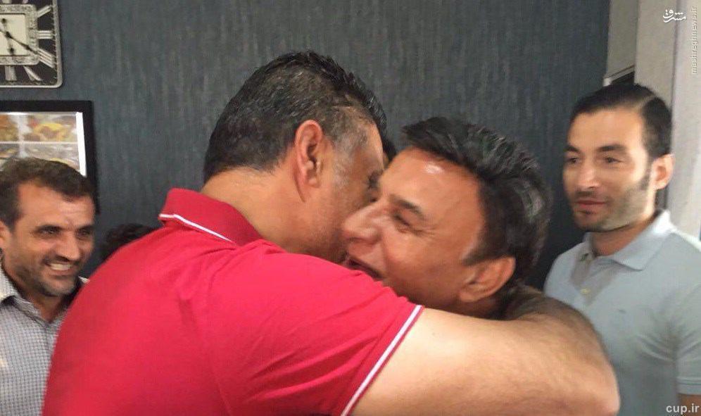 عکس/ علی دایی و پرویز مظلومی باهم دیدار کردند
