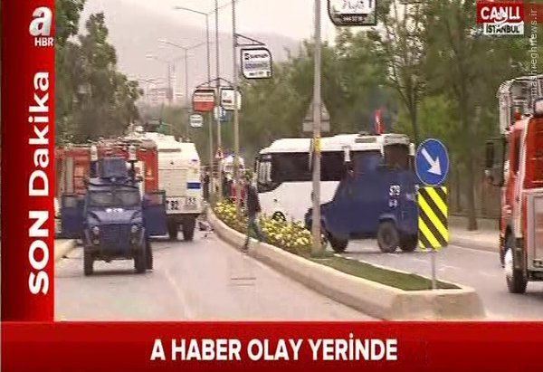 6 زخمی در انفجار استانبول+عکس