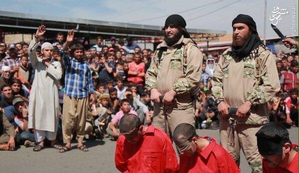 اعدام 4 نظامی عراقی در موصل+عکس