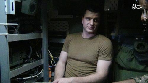 اخراج فرمانده تفنگداران آمریکایی متجاوز به آبهای ایران