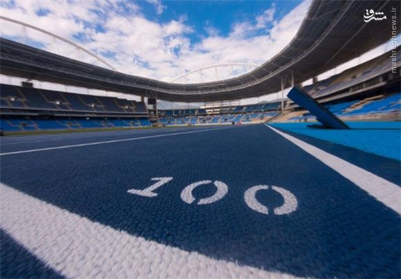 دو ورزشگاه میزبان المپیک افتتاح شدند + عکس