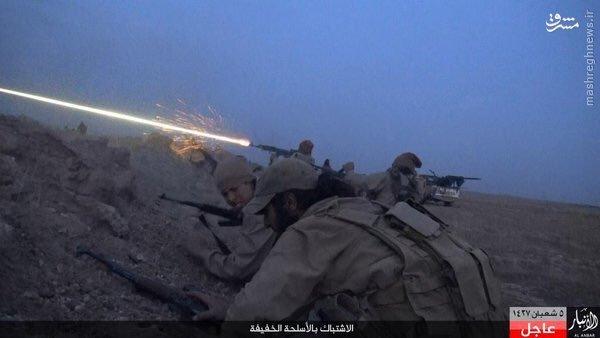 حمله هالیوودی داعش به ارتش عراق+عکس