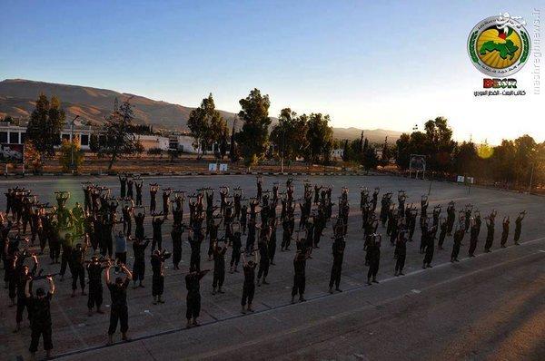 پیوستن صدها جوان به ارتش سوریه در حسکه+عکس