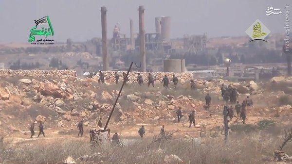 نبردهای اردوگاه حندرات به روایت تروریستها+فیلم و عکس