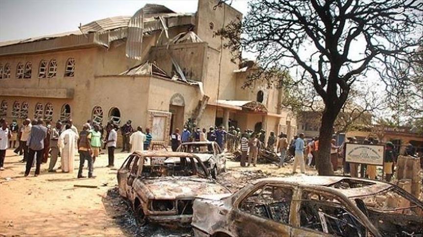 حمله انتحاری داعش به پارلمان نیجریه+عکس