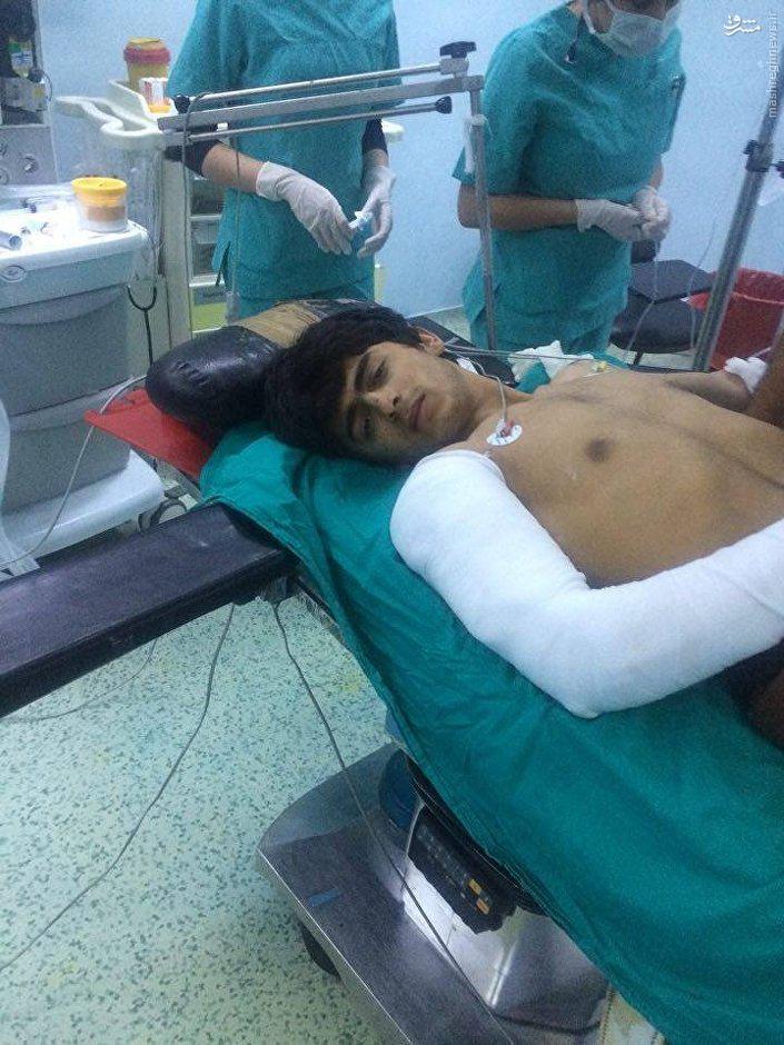 درمان زخمی های داعش در بیمارستانهای ترکیه+عکس