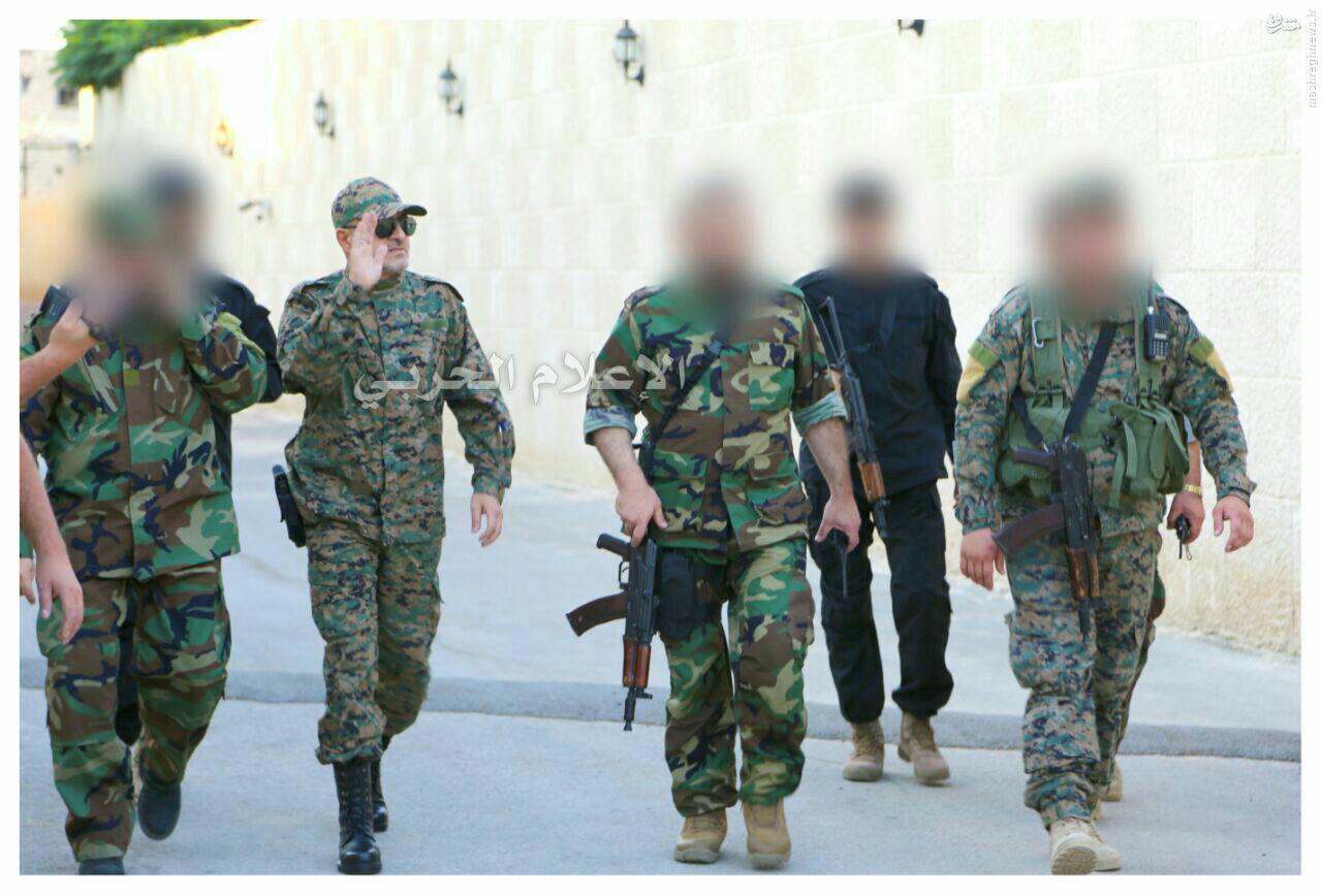 تصاویر جدید از فرمانده جهادی حزب الله+عکس