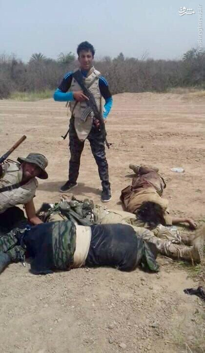 هلاکت 3 انتحاری داعش توسط پلیس عراق+عکس