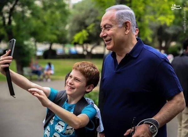 سگ چرخانی نتانیاهو در قدس اشغالی+عکس
