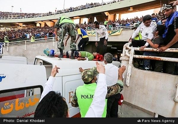 مرگ تائید نشده یک هوادار در اهواز +عکس