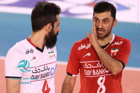عکس/ نخستین دیدار دوستانه والیبال ایران و فراسه