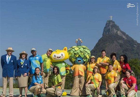 لباس کارکنان و داوطلبان المپیک ۲۰۱۶ ریو + عکس