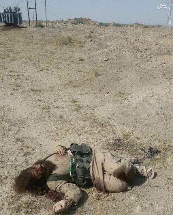 دفع حمله داعش به رمادی عراق+عکس