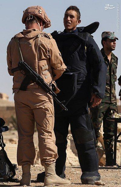 آموزش نظامیان سوری توسط ارتش روسیه+عکس