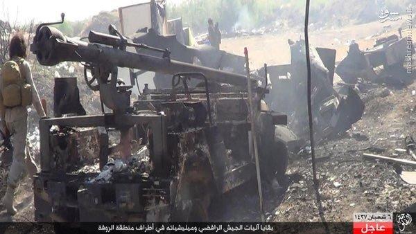 شکست هجوم داعش به عامریه فلوجه+عکس