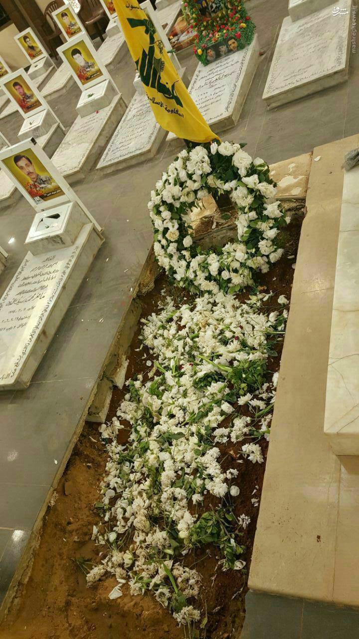 عکس/ مزار ذوالفقار شهید حزب الله