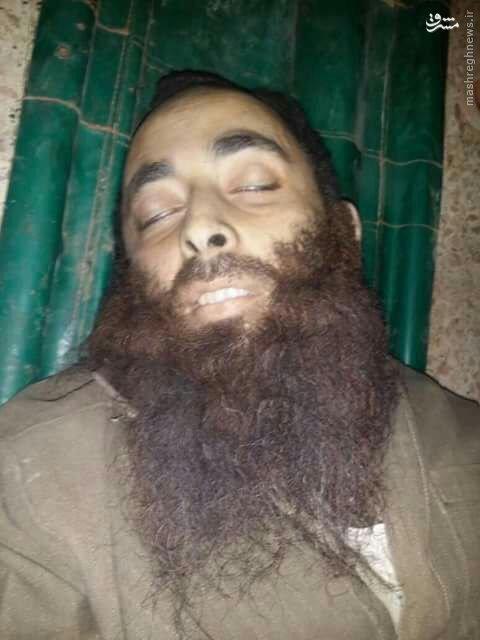 هلاکت امیر داعش در دیرالزور+عکس