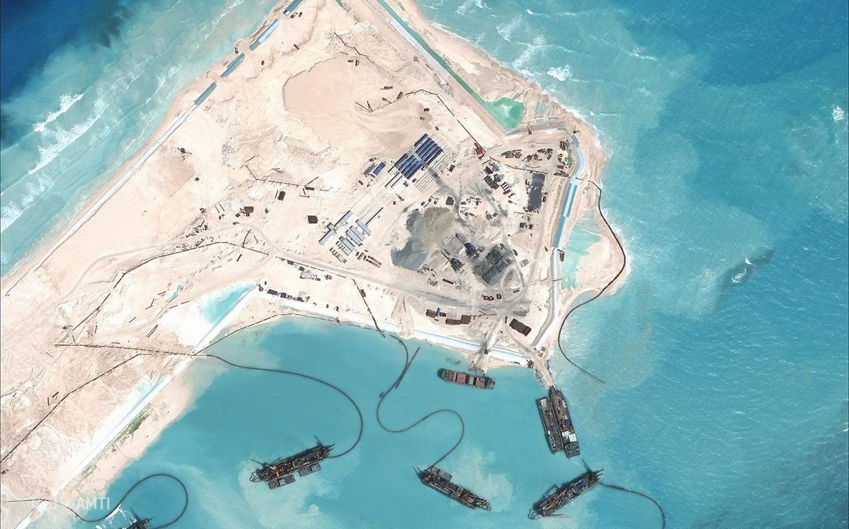 افزایش زیرساخت های نظامی چین در دریای چین جنوبی