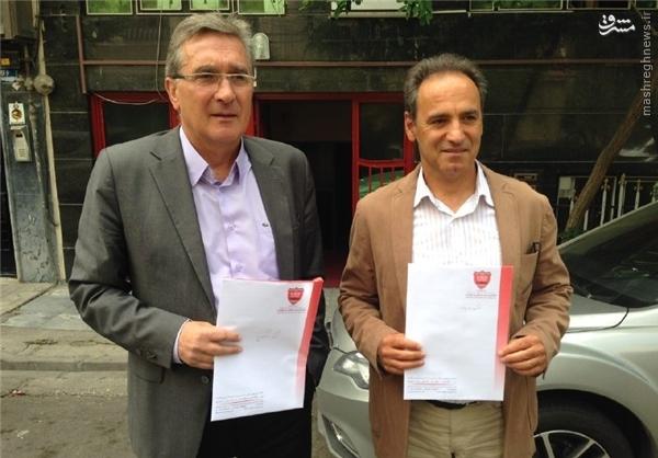 عکس/ قرارداد برانکو ثبت شد