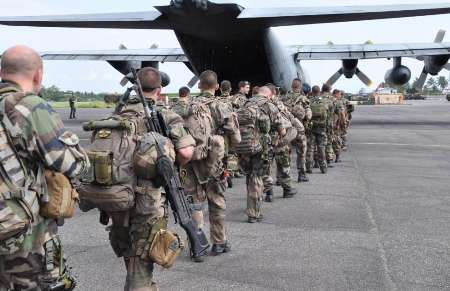 پایان ماموریت نظامیان فرانسه در آفریقای مرکزی
